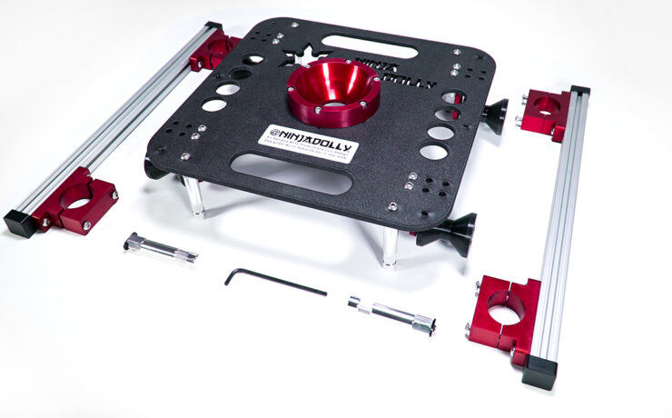 Ninja Dolly - Compact and Versatile Dolly System