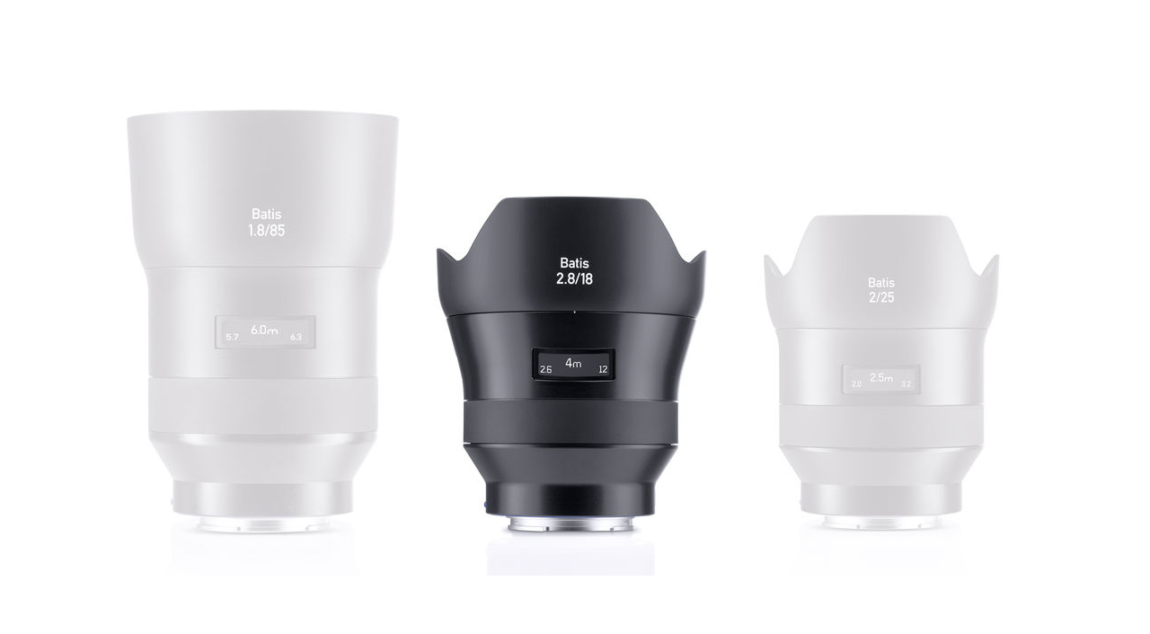 Zeiss Add to their Full Frame E mount AF Line Up with the Batis 18mm f/2.8