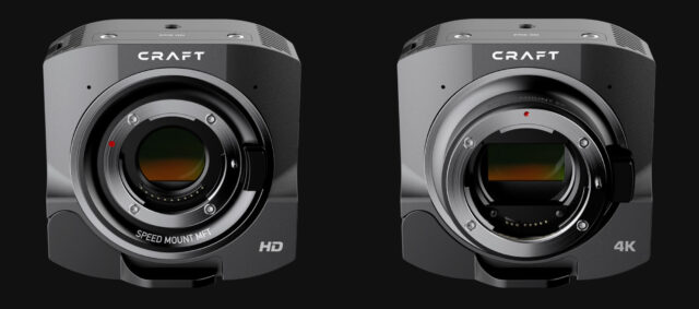 craft camera HD and 4k