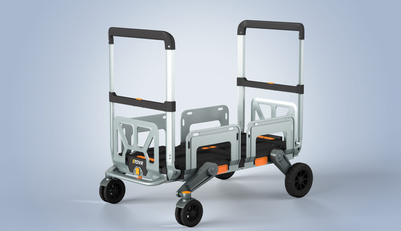 EROVR - A Transformable Dolly, Wagon, and Cart