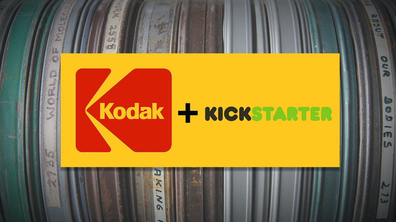 Want to Shoot Film? Kodak and Kickstarter Can Make It Happen
