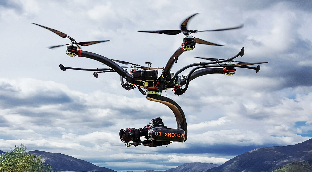 Ty Evans Produces Stunning Shotover U1 Rotocopter Launch