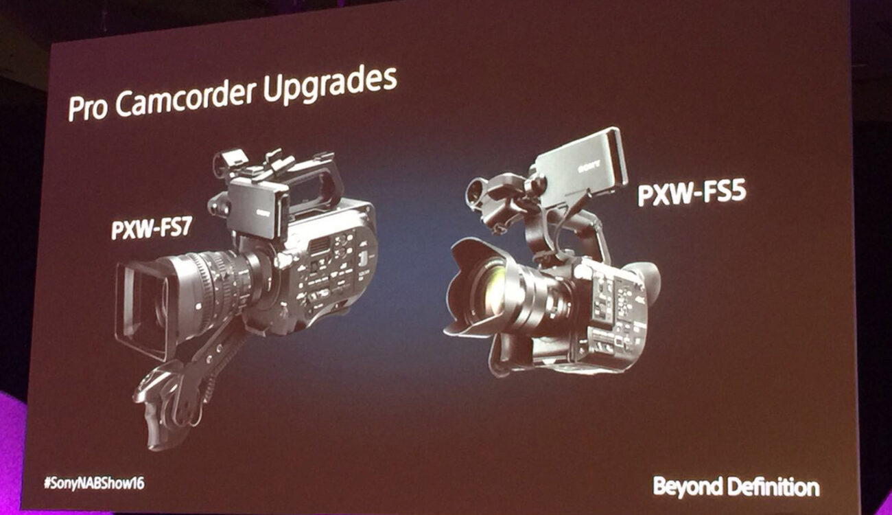 Sony Announces: New FS5 Firmware Update, AXS-R6 Recorder, New Compact Camera