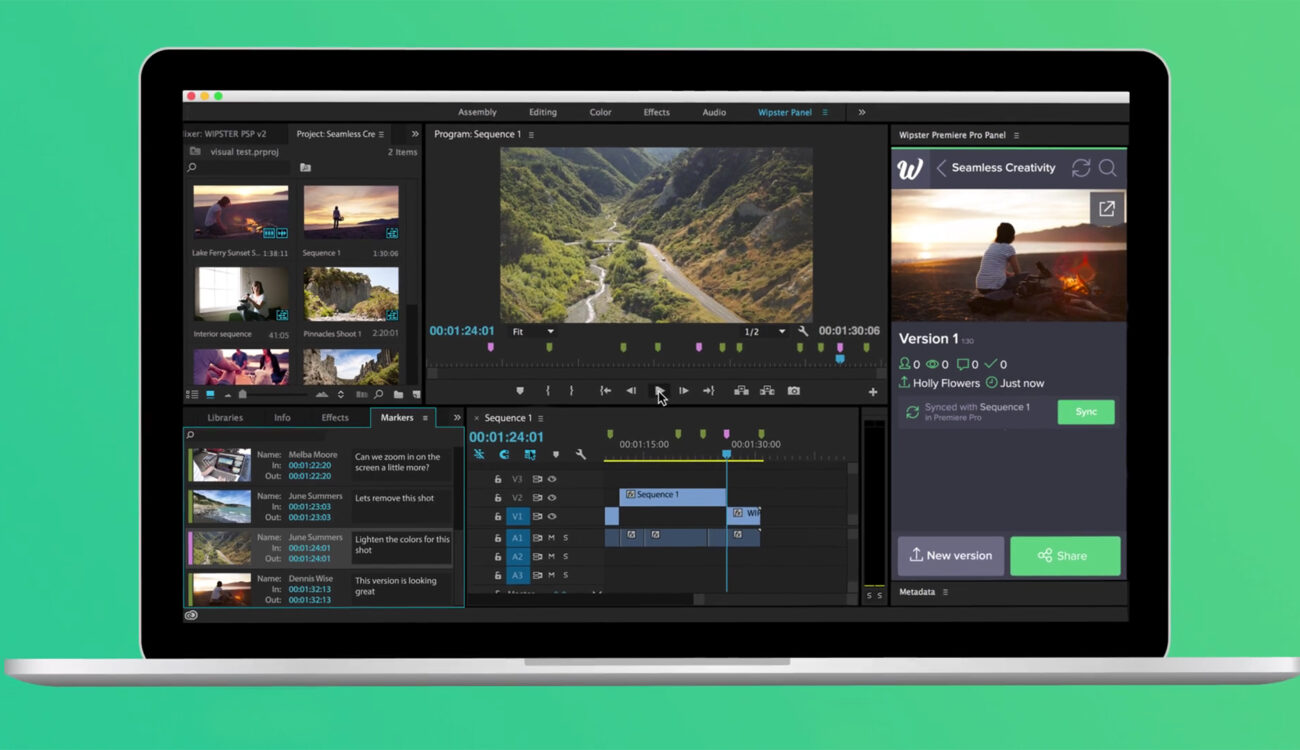 wipster.io Announces Full Integration With Premiere Pro
