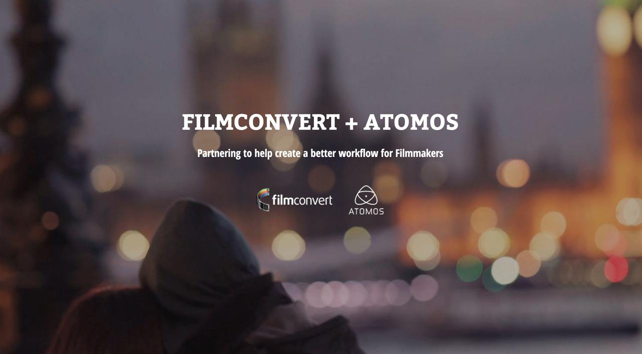 Atomos And Filmconvert Release Free Custom LUTs