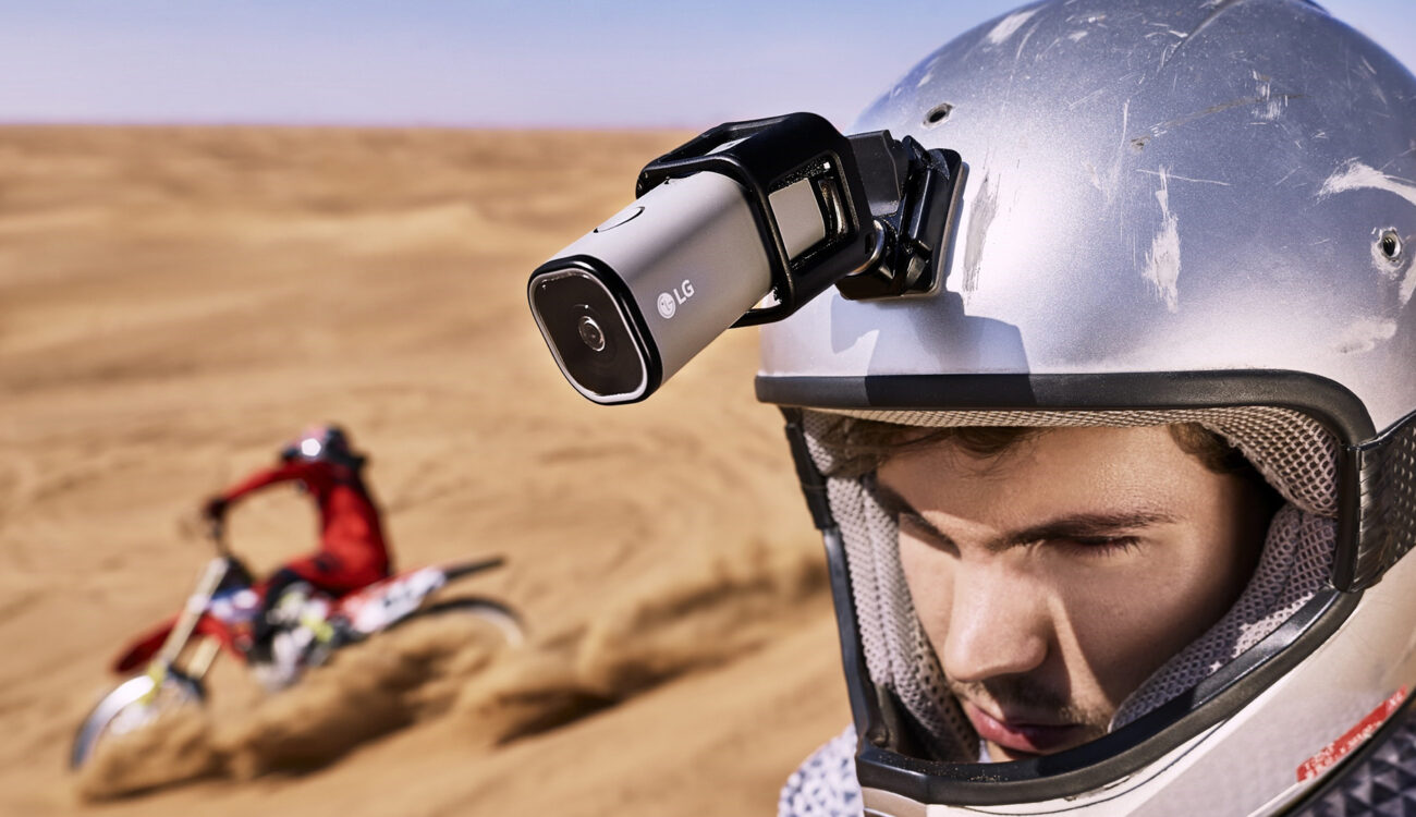 LG Introduces Action Cam with Live LTE Streaming