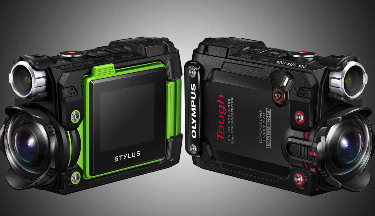 Olympus Enters Action Cam Market with Its Stylus TG-Tracker