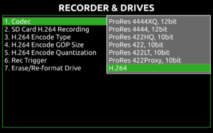 Pix e screen-H264codec