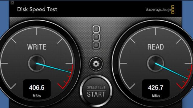 Angelbird 512GB SSD2go PKT Disk speed test