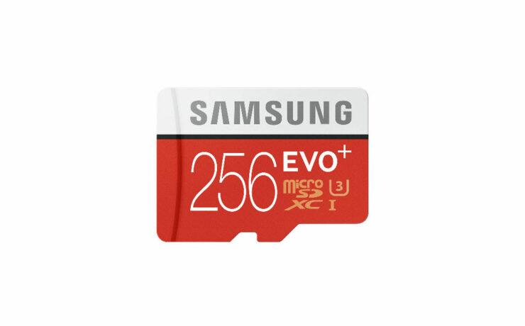 Samsung Announce EVO Plus 256GB Micro SD Card