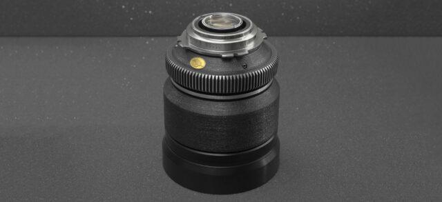 Dog Schidt Optiks Trump - Rehoused Russian PL Glass - 85mm Lens