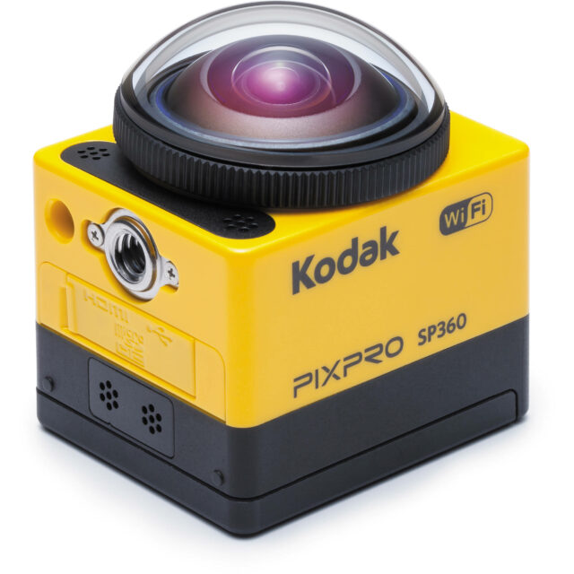 Kodak SP360 VR camera