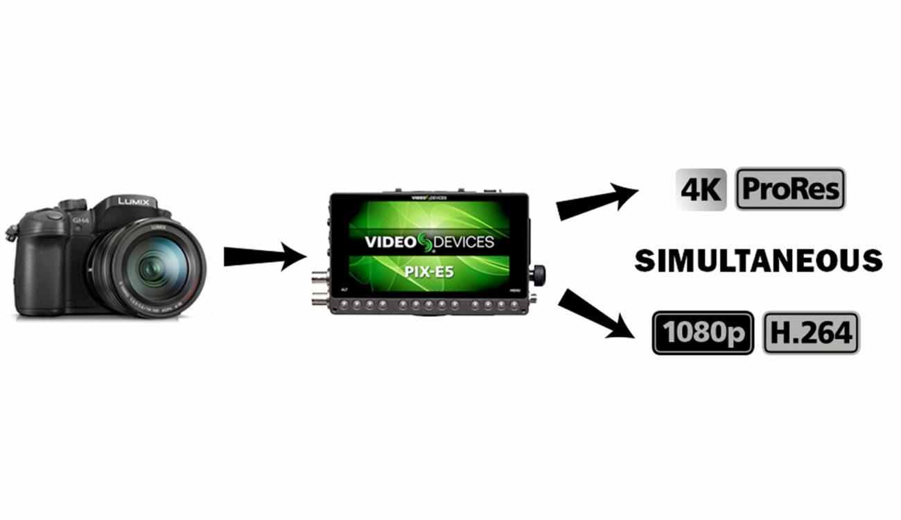 Video Devices Release Pix-E Firmware 3.00