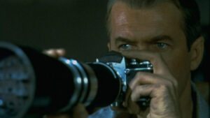 Still from Hitchcock's Rear Window (1954)