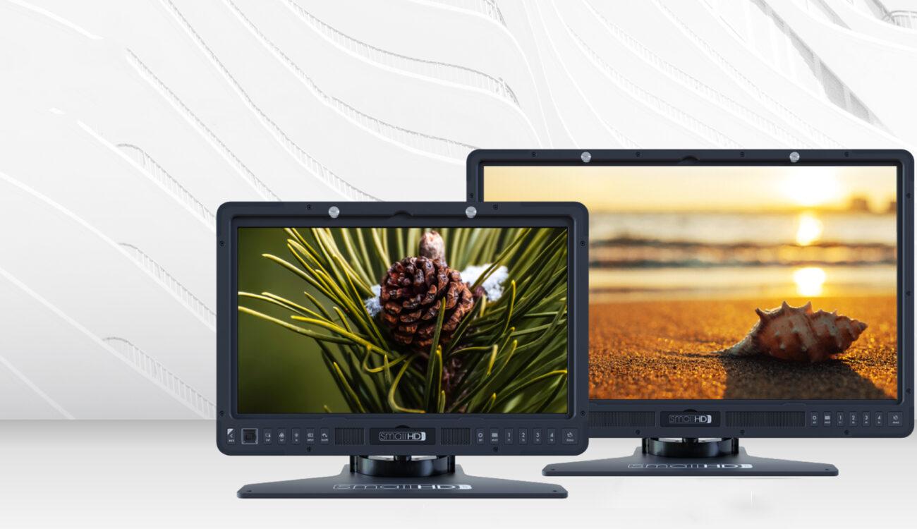 New SmallHD Studio Production Monitors - Big Screens on a Budget