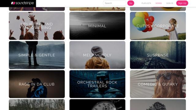 Soundstripe categories