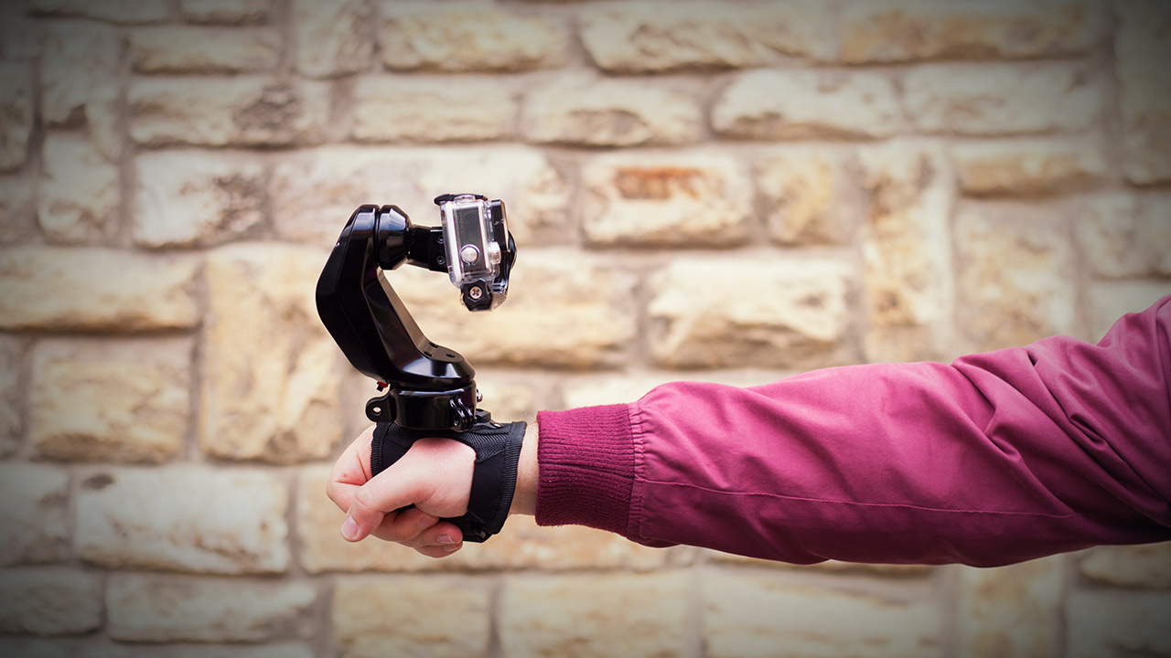 Sybrillo - a VR Remote-Controlled Gimbal for GoPro