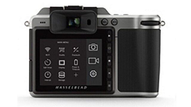 Hasselblad X1D back