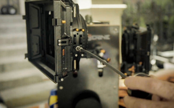 Bright Tangerine's Geared Filter Tray - Take Control of Your Matte Box