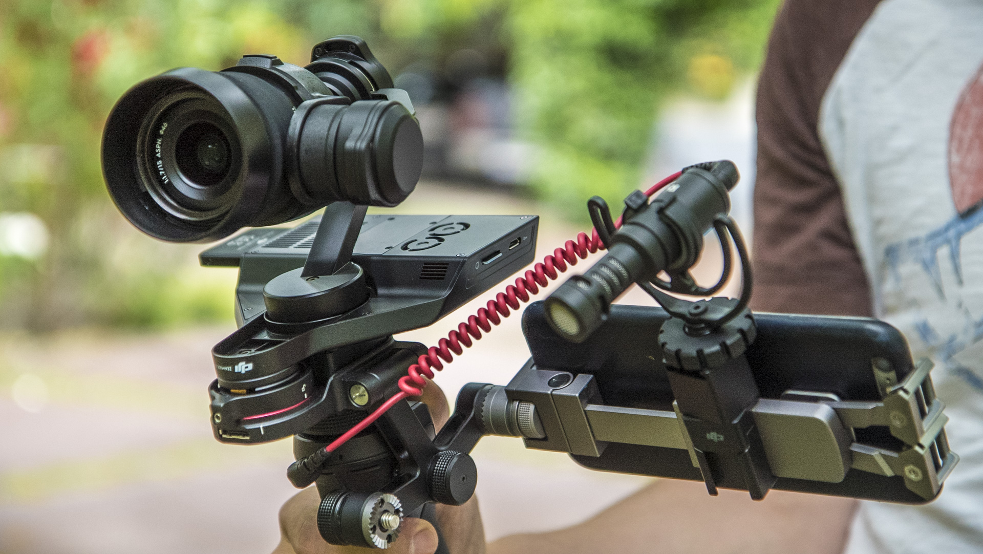 Dji Osmo Raw Review Zenmuse X5r First Footage Cinema5d Smartphone