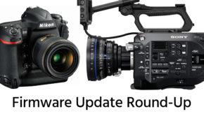 Nikon-D5-Sony-FS7-firmware