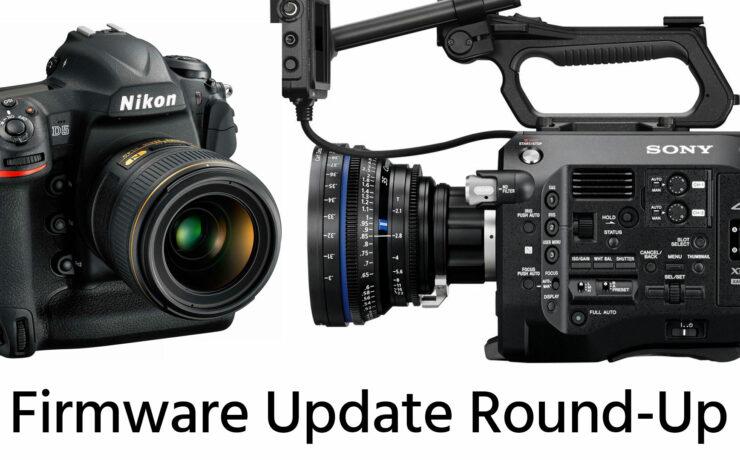 Firmware Update Round-Up: Nikon D5 v1.10, Sony FS7 v4.0