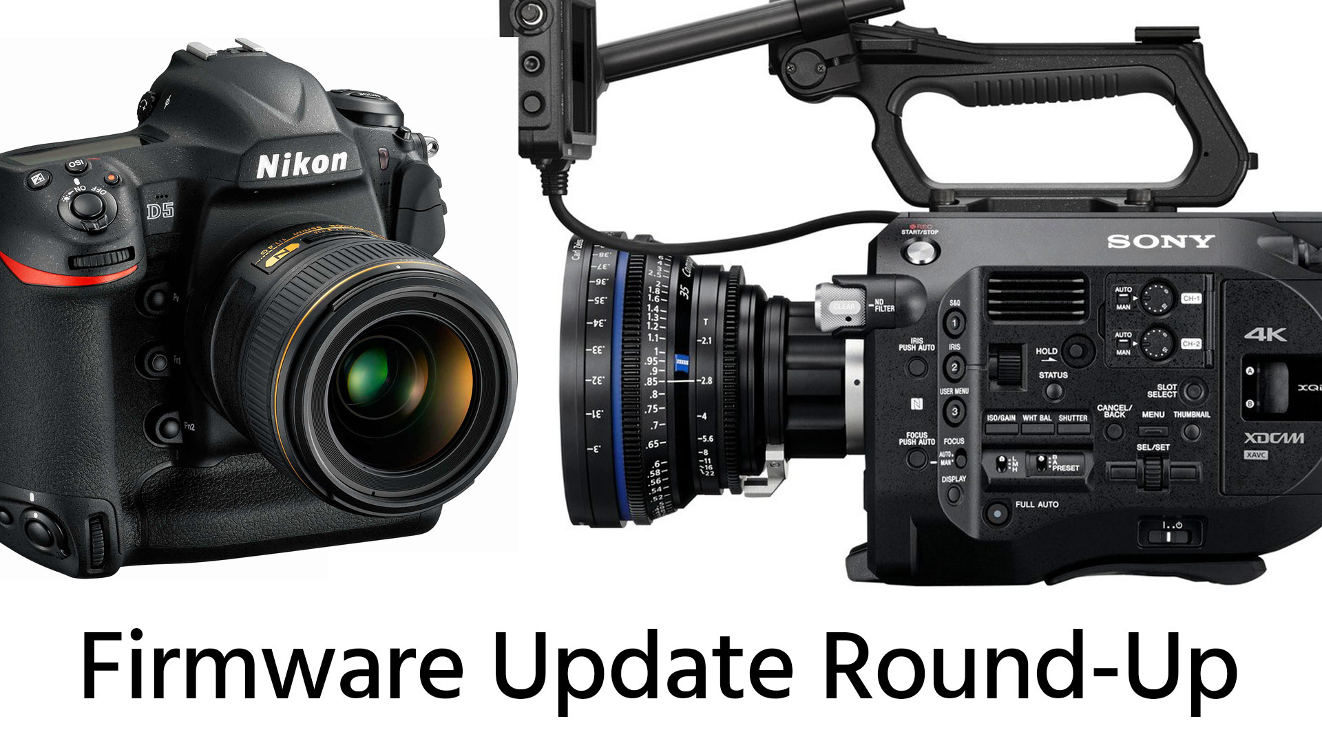 Firmware update round-up: nikon d5 v1. 10, sony fs7 v4. 0.