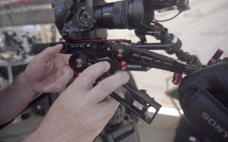 Zacuto Trigger Grip for FS5, FS7 & Canon C-Cameras - Cine Gear 2016