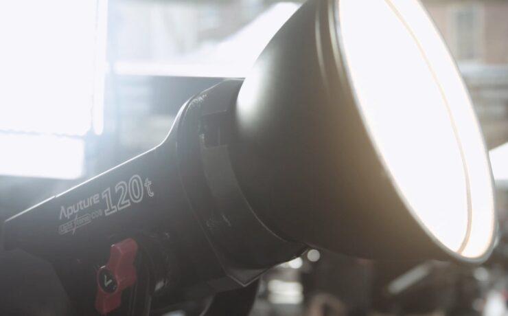 Aputure Light Storm COB 120t LED Light at Cine Gear 2016