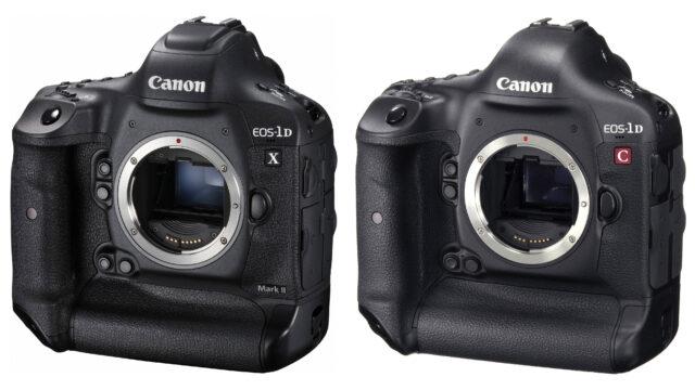 Canon 1D C vs Canon 1D X mark II