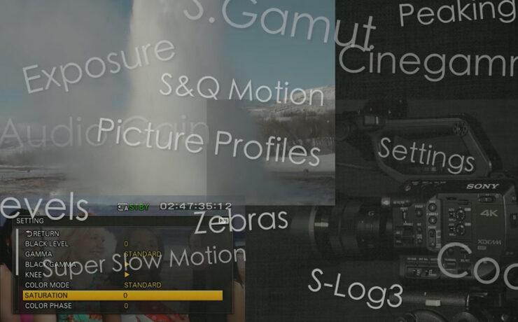 Sony FS5 Tutorial Videos by Alister Chapman