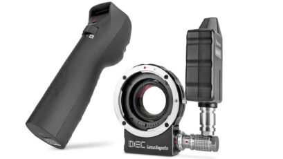 Aputure LensRegain - the All in One Focal Reducer Plus Wireless Lens Control Adapter - Cine Gear 2016