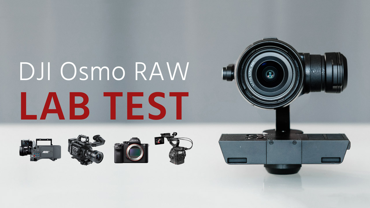 How Does the Osmo RAW Compare to Professional Cinema Cameras?