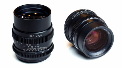 SLR Magic Announces New Cine 35mm & 75mm Cine Lenses