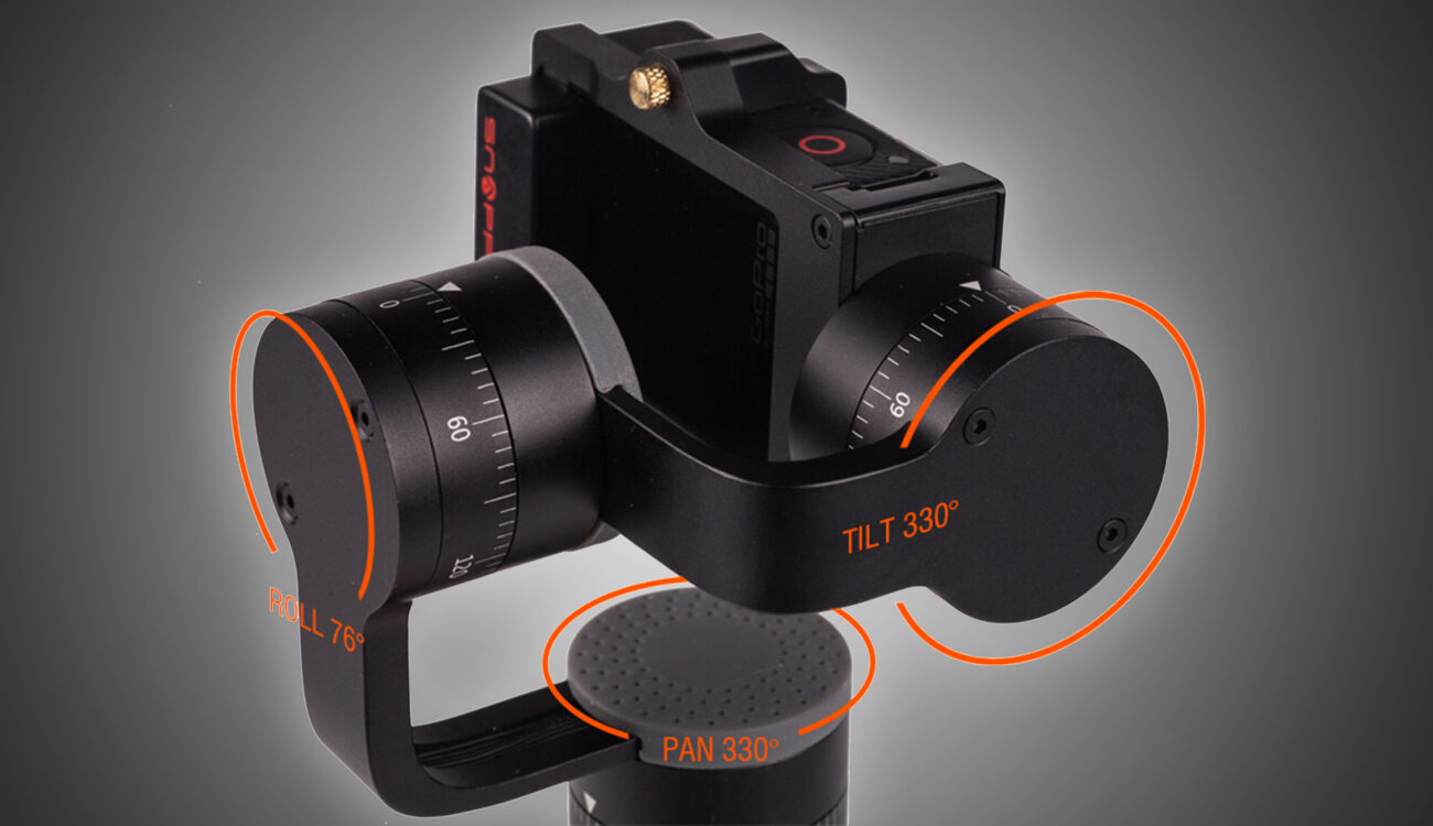 Meet the Feature Packed Snoppa Go Gimbal for GoPro on Kickstarter