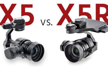 X5 vs. X5R Analyzed - Which DJI Zenmuse Should You Get?