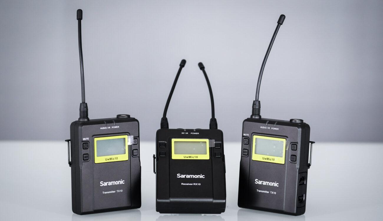 Review: Saramonic UwMic10 Dual Channel Wireless Mic System