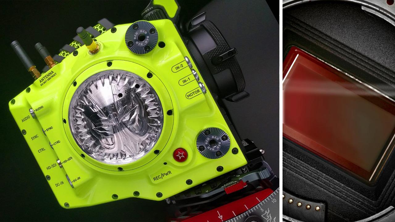 New RED Helium 8K Sensor and Michael Bay's Custom Camera
