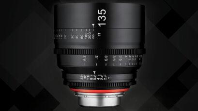 Samyang announces new XEEN 135mm T2.2 Cine Lens