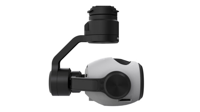 Zenmuse Z3 Side - Drone Zoom Camera