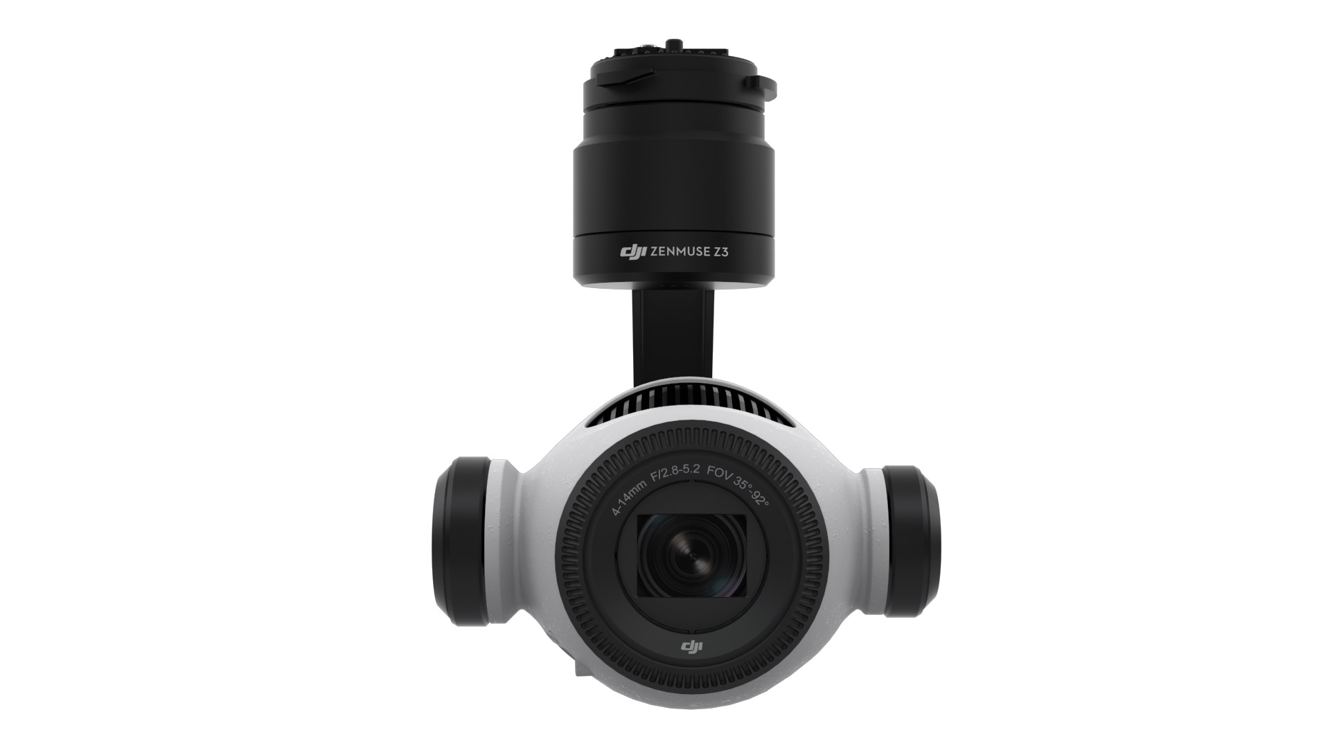DJI初のドローン用ズームカメラ –  Zenmuse Z3