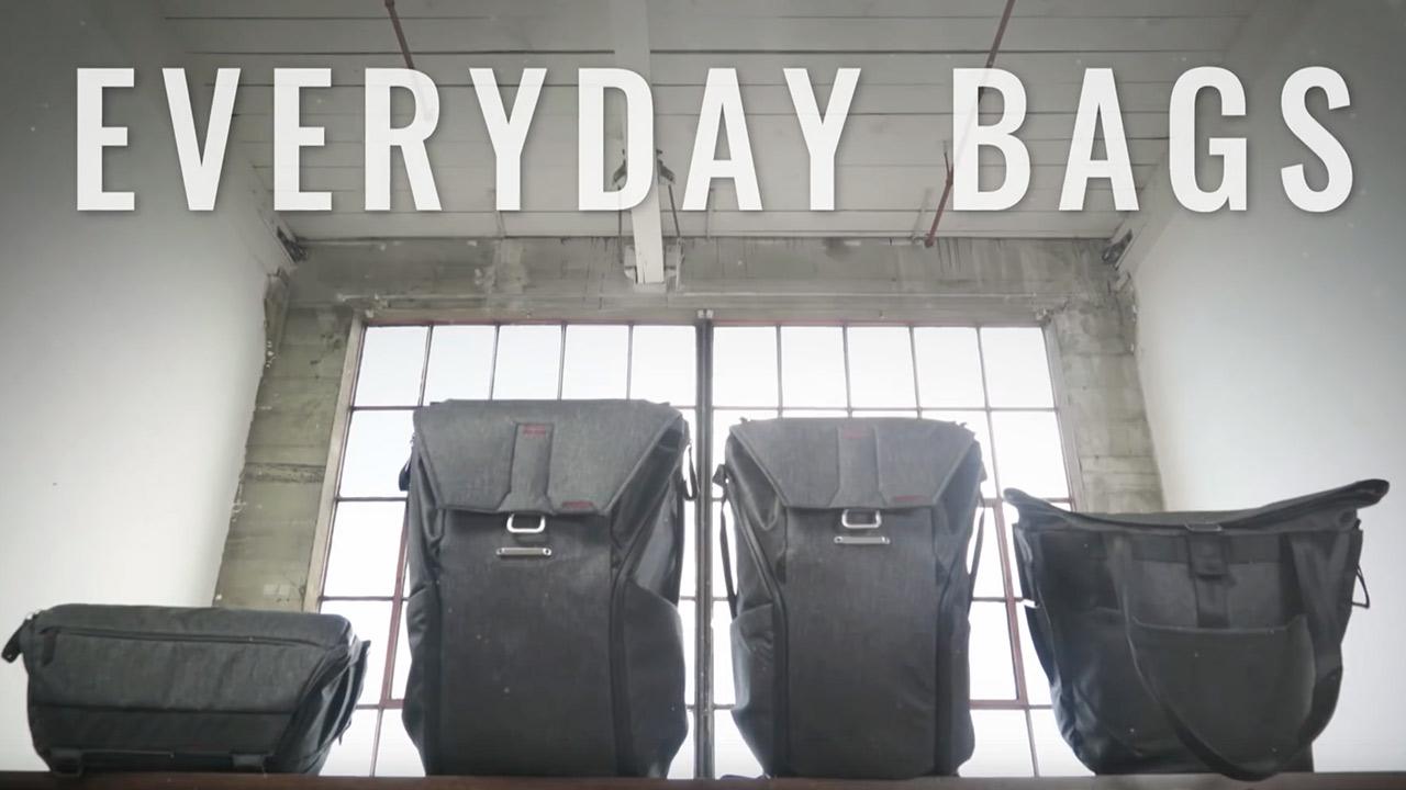 New Everyday Bags by Peak Design on Kickstarter
