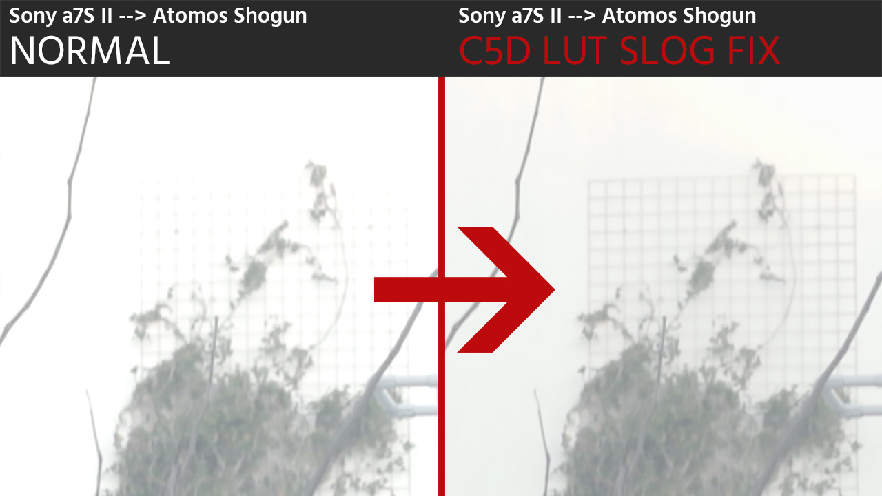 This LUT Fixes the Slog Problem on Sony a7S, Sony a7S II, a7R II, a6300 External Recordings