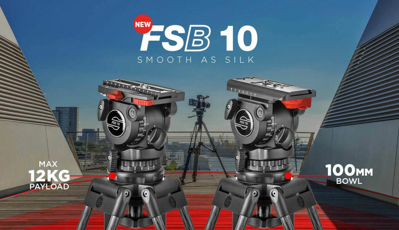 Sachtler FSB 10 Tripod Head Released, 100mm Compact Bowl