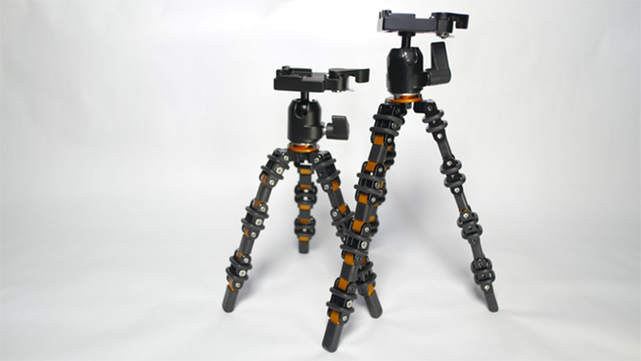 Bendy - a New Kind of Tripod for Vloggers on Kickstarter