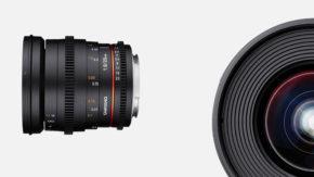 Samyang 20mm FF lens