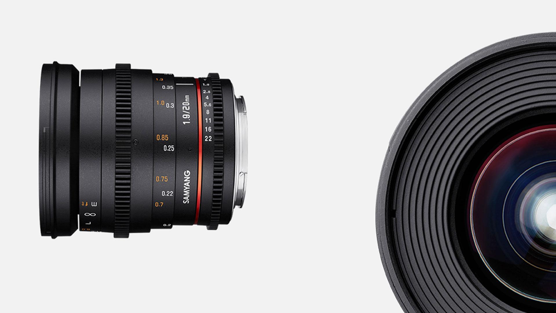 New Samyang 20mm Full Frame Lens Announced | cinema5D