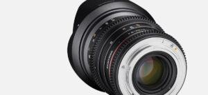 Samyang 20mm FF cine lens