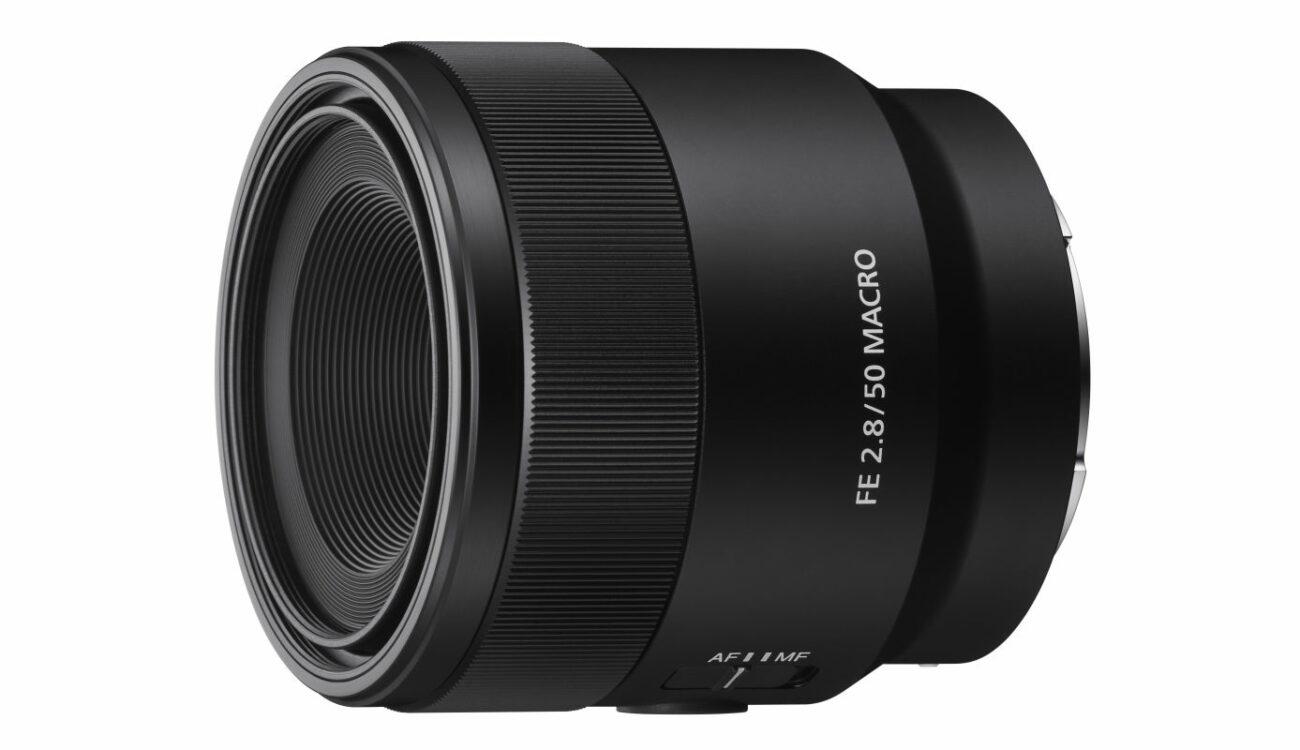 Sony 50mm Macro Lens for Full Frame Announced