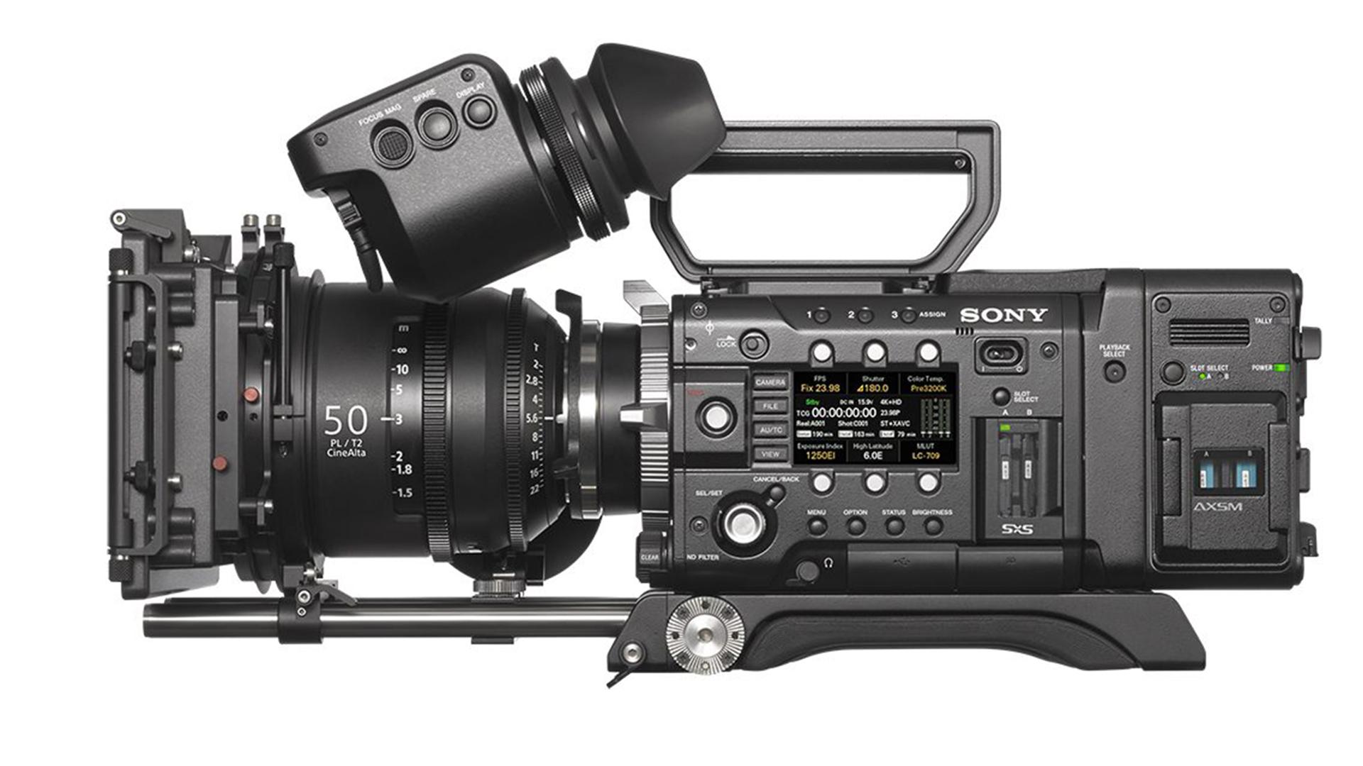 ソニーがPMW-F5/F55用外部レコーダーAXS-R7を発表-新たにX-OCNフォーマットを導入
